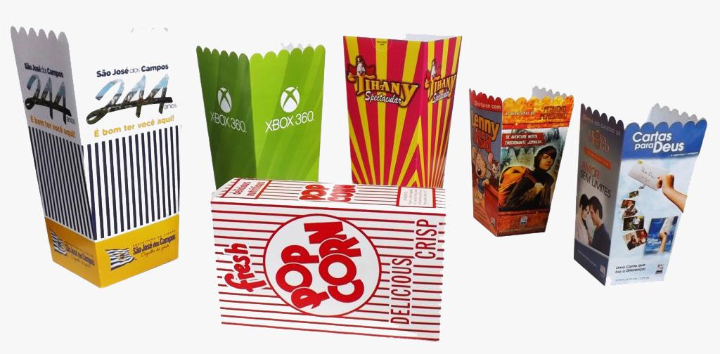 Embalagens para Cinema